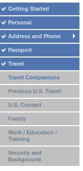 B2 Visa Steps